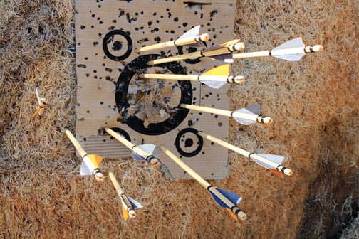 Local archers find solace in Rube Powell Range
