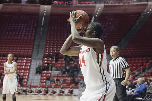 Women's basketball falls to Colorado State 95-48