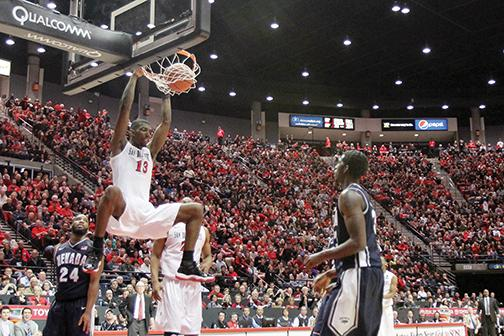Aztecs defeat Wolf Pack, win 20 in a row