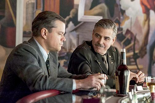 "Clooney and Crew try to save culture in ""The Monuments Men"""