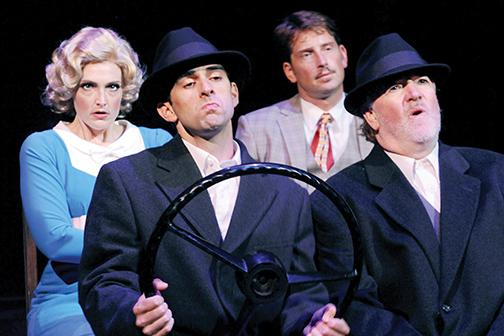 'The 39 Steps' steps up the laughs