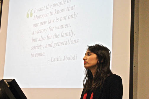 Activists advocate human rights on campus
