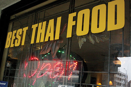 'Best Thai Food' lives up to name