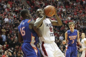 SDSU's Jamaal Franklin is the MW Player of the Year.   Peter Kluch, Senior Staff Photographer