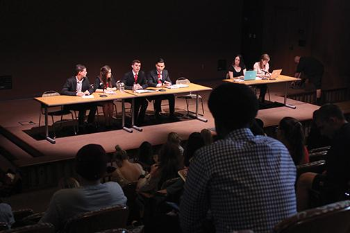 A.S. vice president candidates discuss campus issues