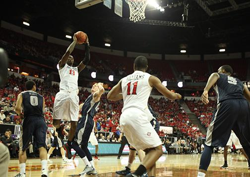 Aztecs ready for round two of MWC Tourney against Rebels