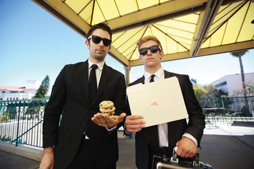 Secret Cookie Service delivers joy to clients