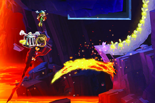 Multiplayer fun in 'Rayman Legends' (Next Gen Update)