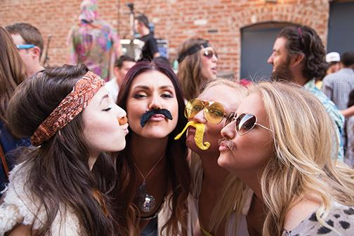 Things get hairy at funk music bash
