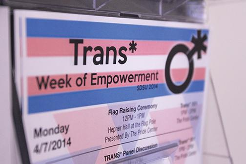 SDSU launches first 'Trans Week of Empowerment'