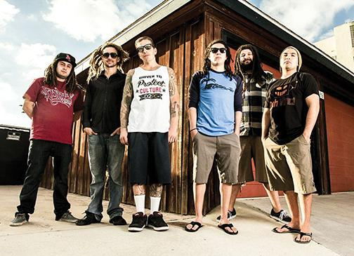Jamming to the sound of the San Diego band, Tribal Seeds