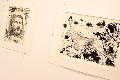 Art event showcases printmaking