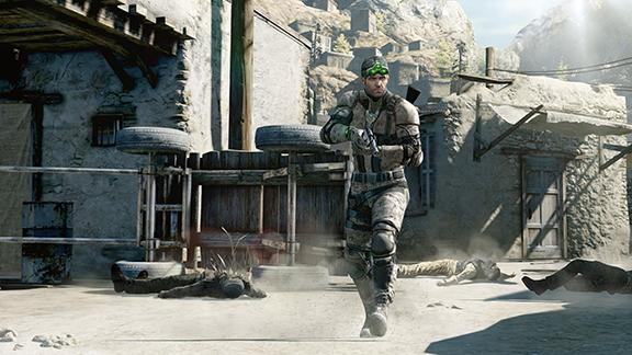 "Sam Fisher returns in ""Splinter Cell: Blacklist"""