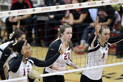 Aztecs pick up a win at the NAU Fiesta Bowl Tournament