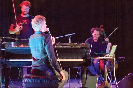 Olafur Arnalds showcased his musical creativity