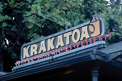 Flavor erupts at Krakatoa
