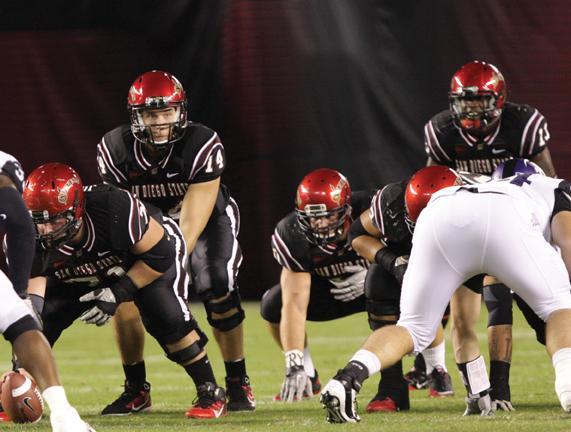 SDSU soars in win against Falcons