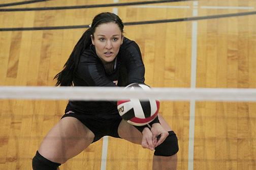 Volleyball falls to Wyoming and Colorado State