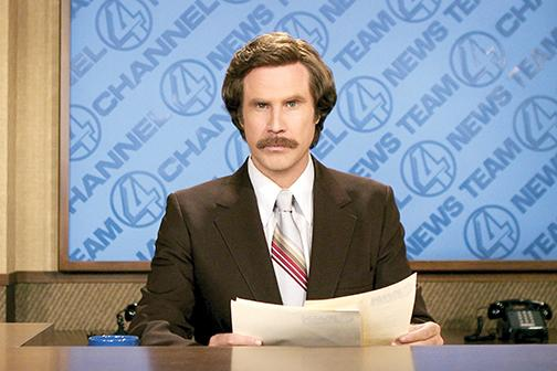 The iconic anchorman is finally back