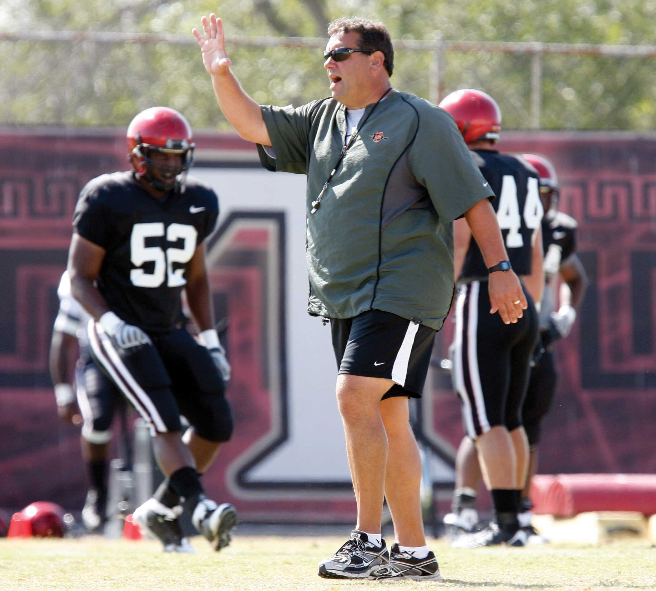 SDSU brings back Brady Hoke as defensive line coach