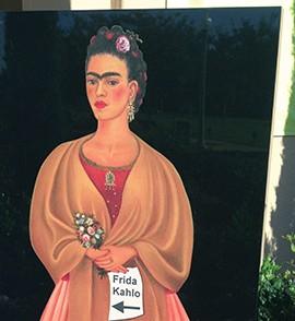 Frida Kahlo llega a SD en replicas