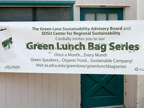 SDSU Green Love puts pollution in the bag