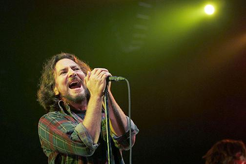 Pearl Jam loves the city of San Diego