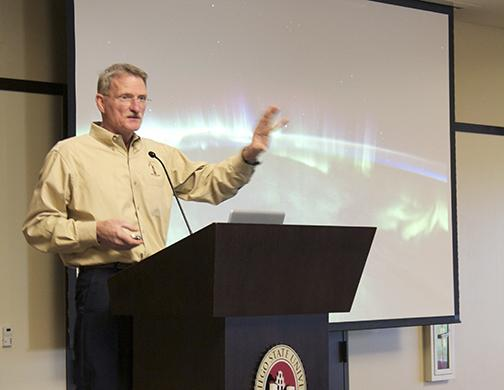 Former astronaut discusses space voyages