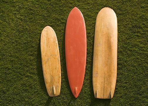 Surf exhibit cruises to Balboa Park