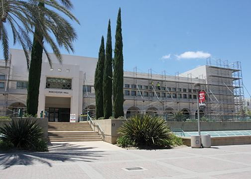 On-campus construction revamps SDSU