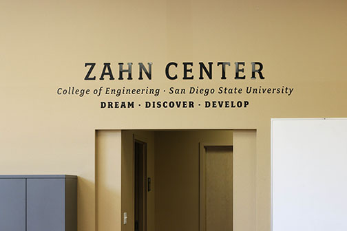 The Zahn Innovation Center provides resources to turn ideas into companies and products.