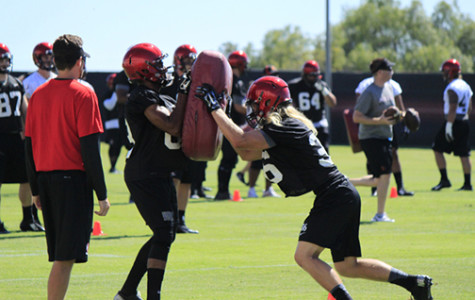 An early look at the Aztec Football team