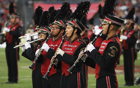 Behind the music: Marching Aztecs