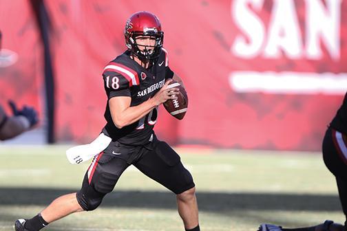 SDSU Football Quarterback