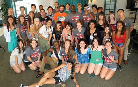 Aztecs buddy up with foreigners