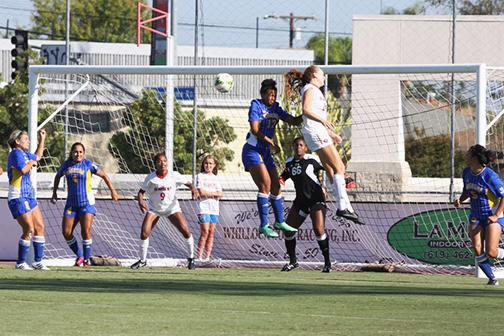 Women's soccer dominates Idaho State