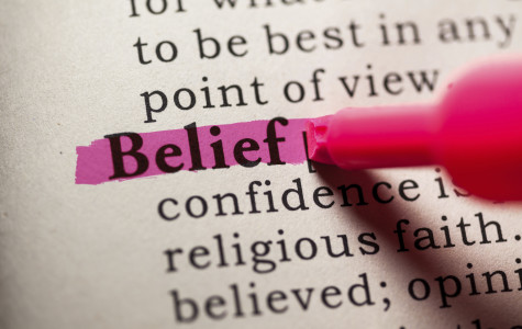 Highlighting the word Belief