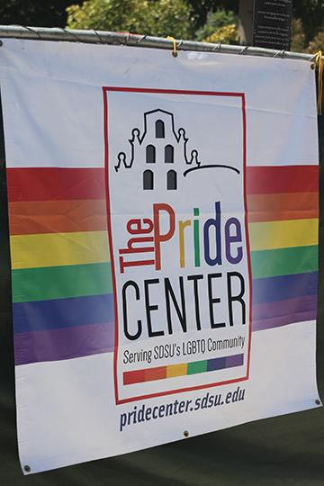 Queer Student Union president finds himself through the Pride Center