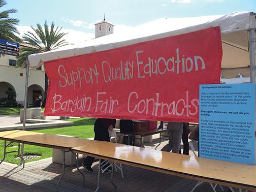 Faculty, CSU to settle new contract