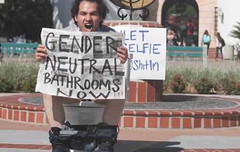 Toilet event advocates for gender-neutral bathrooms