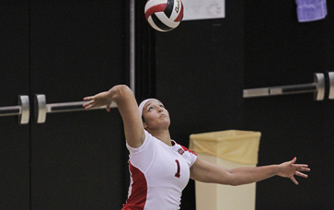 Aztec volleyball sinks Spartans in first road win