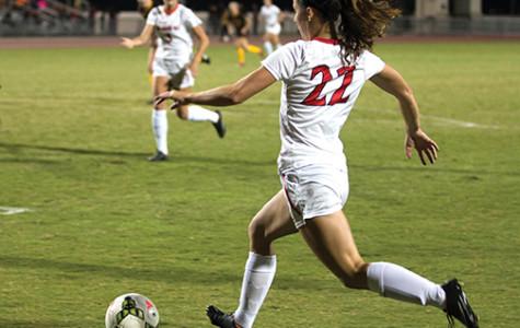 Women's soccer scores two MW wins