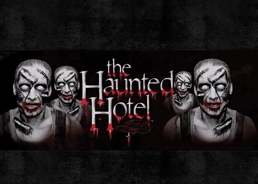 Heart-pounding hauntings await at The Haunted Hotel