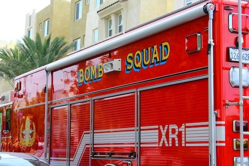Suspicious device prompts evacuations