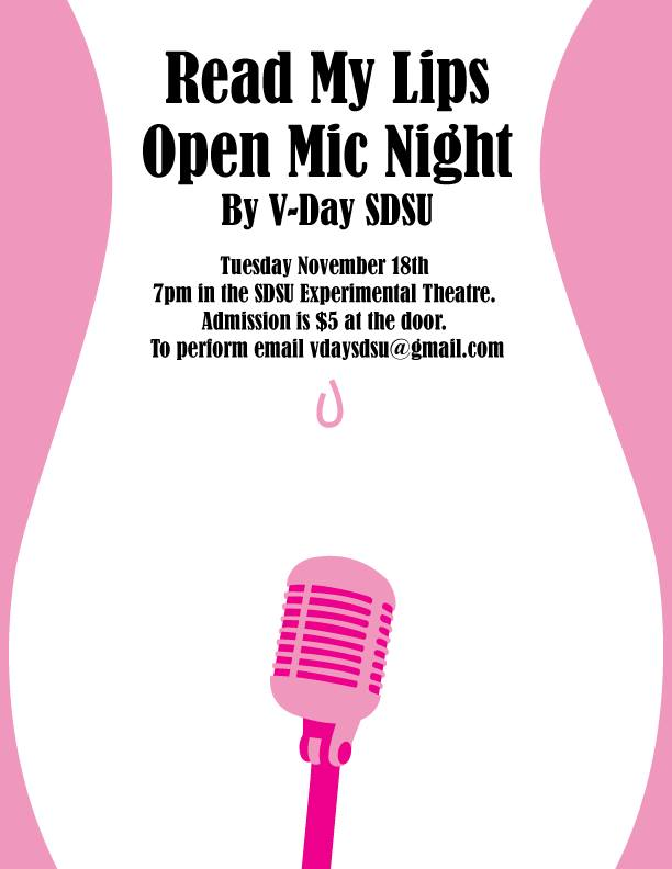 Open-mic night supports women