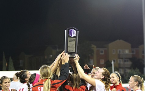 Katie Perry's fireworks launch SDSU to MW title