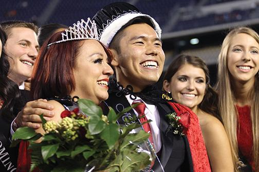 Homecoming crowns new royalty