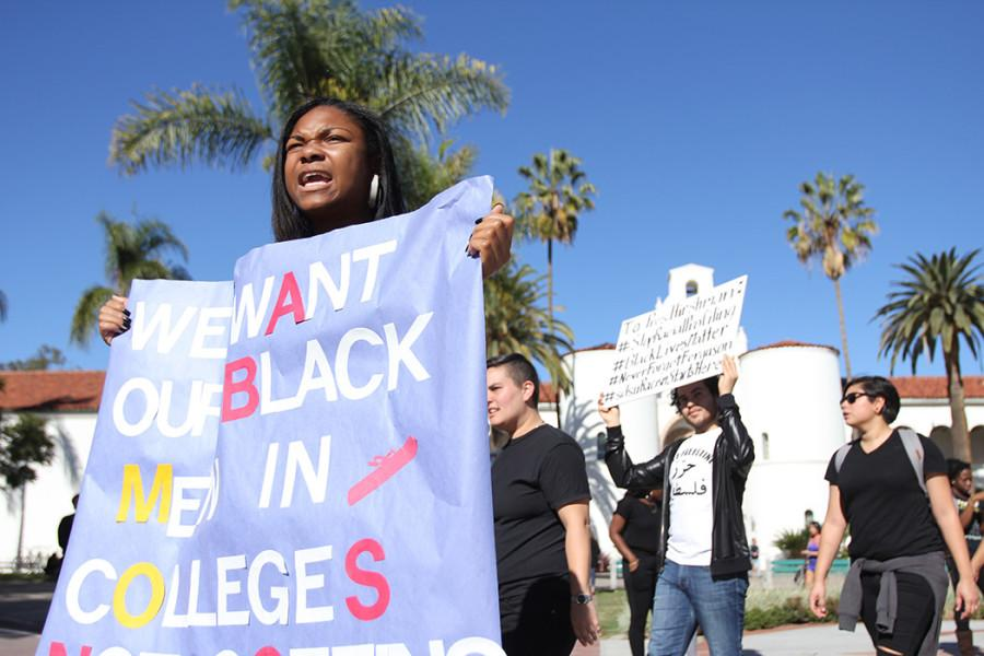 SDSU protests Ferguson shooting decision