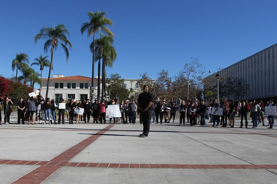 Participants were given the opportunity to speak during the protest and express their opinions.