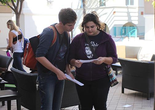 SJP drops leaflets on SDSU campus